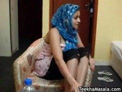 Arab Virgin getting tit fuck