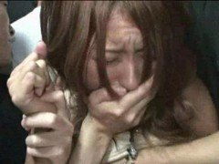 Partygirl gangbanged in Nightclub Elevator
